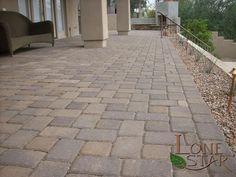 Belgard Sierra Blend Cambridge Cobble Pavers in Fountain Hills, AZ. - www.lonestaraz.com