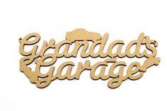 . My Granny, Laser Cut Mdf, Grandma's House, Husband Love, Life Is Hard, My Guy, Cnc, Friendship, Garage