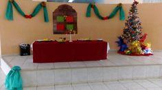 Decoração de natal  na escola