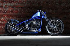 Harley Davidson Shovelhead By Violent Choppers