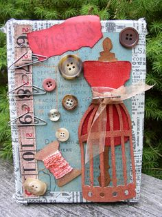 Tim Holtz Sewing Room