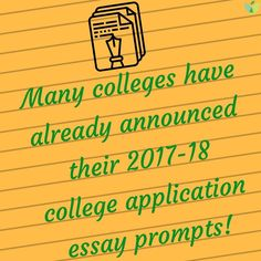 Check out our #CollegeAdmissions Blog for the #CommonApp supplemental #essays and #school-specific #essay prompts that are currently available! 📝 #AspireApplyAchieve #CollegePrep #HigherEd