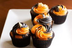 Ghoulishly Gluten Free Halloween Cupcakes on https://www.theculinarylife.com/