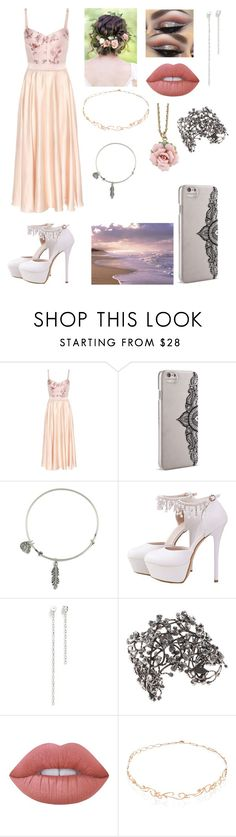 """Pretty in Pink"" by argboo ❤ liked on Polyvore featuring STELLA McCARTNEY, Nanette Lepore, Alex and Ani, Joomi Lim, Emilio Pucci, Lime Crime, Diane Kordas and 1928"