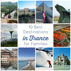 10 Best Destinations in France for Families