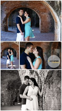 Engagement Photos // Ft. Pickens // Pensacola Beach // Kate's Captures Photography