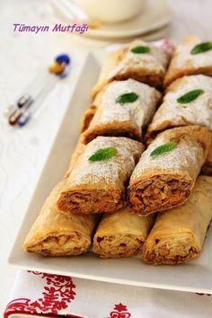 TAHİNLİ KURU BAKLAVA - Tümayın Mutfağı - EN İYİ YEMEK SİTESİ Turkish Recipes, Greek Recipes, Chhiwat Ramadan, Low Carb Brasil, Turkish Sweets, Good Food, Yummy Food, Recipe Mix, Sweet Pastries