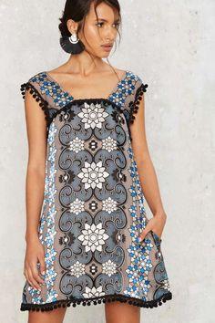 For Love & Lemons Juliet Silk Mini Dress - Clothes | Best Sellers | Day | Prints