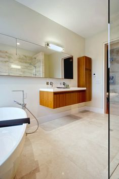 Mirrors On Pinterest Modern Bathroom Vanities Wood Mirror And