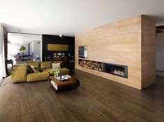 Porcelain stoneware wall/floor tiles with wood effect LEGNI HIGH-TECH | Rovere Scuro High-tech Woods Collection by ARIOSTEA