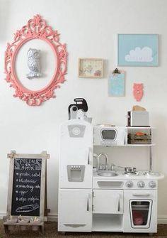 kid kitchens kid kitchen with pink mirror