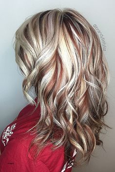 Rotes Haar mit blonden Highlights und Lowlights – Low Onvacations Wallpaper Image Source by Red Hair With Blonde Highlights, Red Blonde Hair, Chunky Highlights, Gorgeous Hair Color, Cool Hair Color, Short Platinum Blonde Hair, Low Lights Hair, Fall Hair Colors, Winter Hairstyles