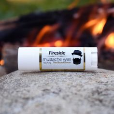 Fireside mustache waxis complex and masculine. Ready to take your mustache to new heights.