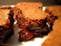 Best Ever Brownies - Crackly on top with a soft, gooey interior, fudgy, rich, and buttery.