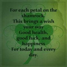 The Irish Shamrock. Pediatric Dentist St. Louis - pediatric dentist in St. Louis, MO @ www.kidsdentistry.com Pediatric Dentist, Dentist In, Finding Peace, Losing Her, Pediatrics, St Patricks Day, Wish, Cancer, Bring It On