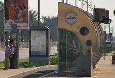 Dubai Travel – Public Transport Air Conditioned Bus Stops!
