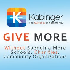 Give More Without Spending More #kabinger #kabingercares