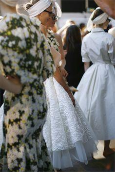 Giambattista Valli Haute Couture Fall 2014- backstage