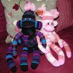 it really is a sock monkey pattern!