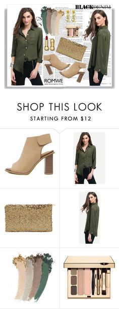 """""""Romwe 6/10"""" by dinna-mehic ❤ liked on Polyvore featuring Gucci, Yves Saint Laurent and romwe"""