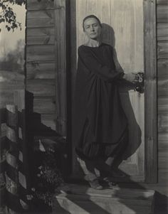 Georgia O'Keefe by her lover Alfred Stieglitz, 1920  They were together for 30 years