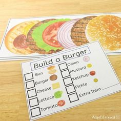 I like the realistic photos, clear format and high interest topics. These perfect additions to my task box system. Vocational Activities, Vocational Skills, Autism Activities, Bun Burger, Sequencing Cards, Teaching Life Skills, School Jobs, Work Task, Preschool Special Education