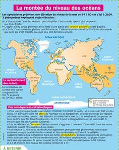 Fiche exposés : La montée du niveau des océans