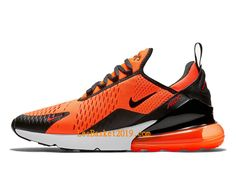 buy popular 72492 79a60 Boutique Nike Air Max 270 Orange Black Chaussures Officiel Basket Prix Pas  Cher Pour Homme BV2517