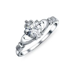 Checkout Celtic Love CZ Ring at BlingJewelry.com