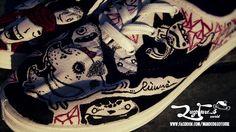 Personalizamos tus tenis, solo dinos tu pasión y será el tema principal de tus zapatos...