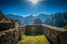 Machu Picchu - Room with a View!