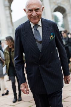 On the Street….Beppe!!, Milan « The Sartorialist