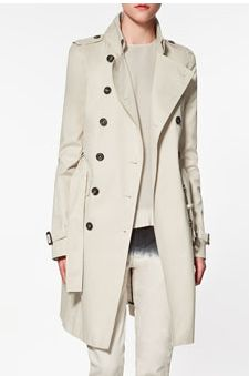 perfect colour trench.