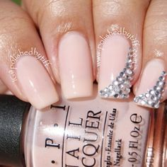 Nail Polish Diamants Bridal Nails Wedding Fancy Pretty