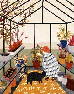 ENGLISH Print GREENHOUSE, March 14, 2014 Besides my new series of cards, there is also a new picture in my shop. Artist Liekeland DUTCH Prent tuinkas, 14-03-2014, Naast mijn nieuwe serie kaarten, is er ook een nieuwe prent te vinden in mijn webshop.