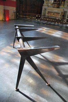 desk structure, Jean-Prouvé