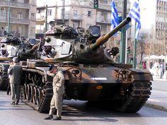 Armored Car, Armored Vehicles, Tank Mania, Hellenic Army, Patton Tank, M48, Greek Warrior, Tank Armor, Ww2 Tanks