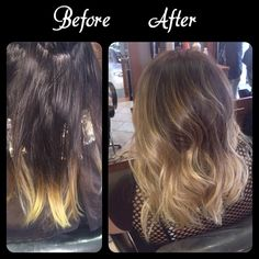Hair by Lisa Frallicciardi blended ombre! Long bob brunette with blonde Long Bob Brunette, Bob Hairstyles Brunette, Game Face, New England, Hair Extensions, Lisa, Long Hair Styles, Beauty, Color
