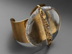 Bracelet, Jacob Hull, Gold, Glass.
