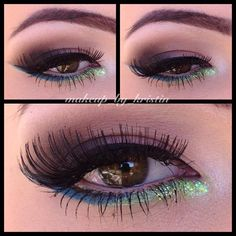 5399719b56f Makeup Makeup Art, Love Makeup, Makeup Looks, Cool Eyes, Amazing Eyes,