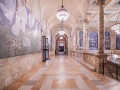 Chavannes Gallery, Boston Public Library, Boston, MA, USA, 2013