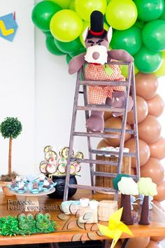 Three Little Pigs & The Big Bad Wolf Birthday Party