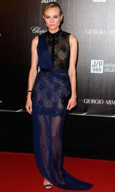 Diane Kruger in Jason Wu At Cannes Film Festival 2012