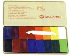 Stockmar Beeswax block crayons