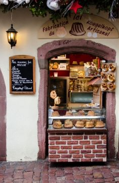 """This lovely bakery is from our feature """"Christmas in Colmar"""""""