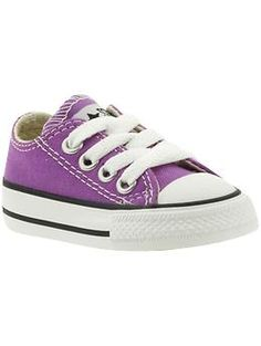 Chuck Taylor Converse for babies & toddlers!