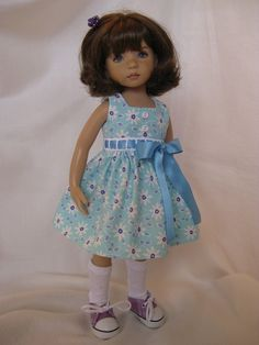 """a sale price LATTICE made to fit 13"""" Little Darling Effner Vinyl doll by Darla"""