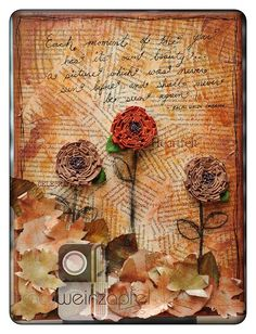 Each Moment 9 X 12 Canvs by Tracy Weinzapfel Studios