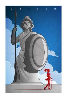 Wonder Woman Origin Poster
