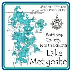 Metigoshe Lake Laser Etched Paddle - Bottineau - ND - 36 inch North Dakota, Go Camping, Family History, Canoe Paddles, Sports, Image, Turtle, Christmas Gifts, Heaven